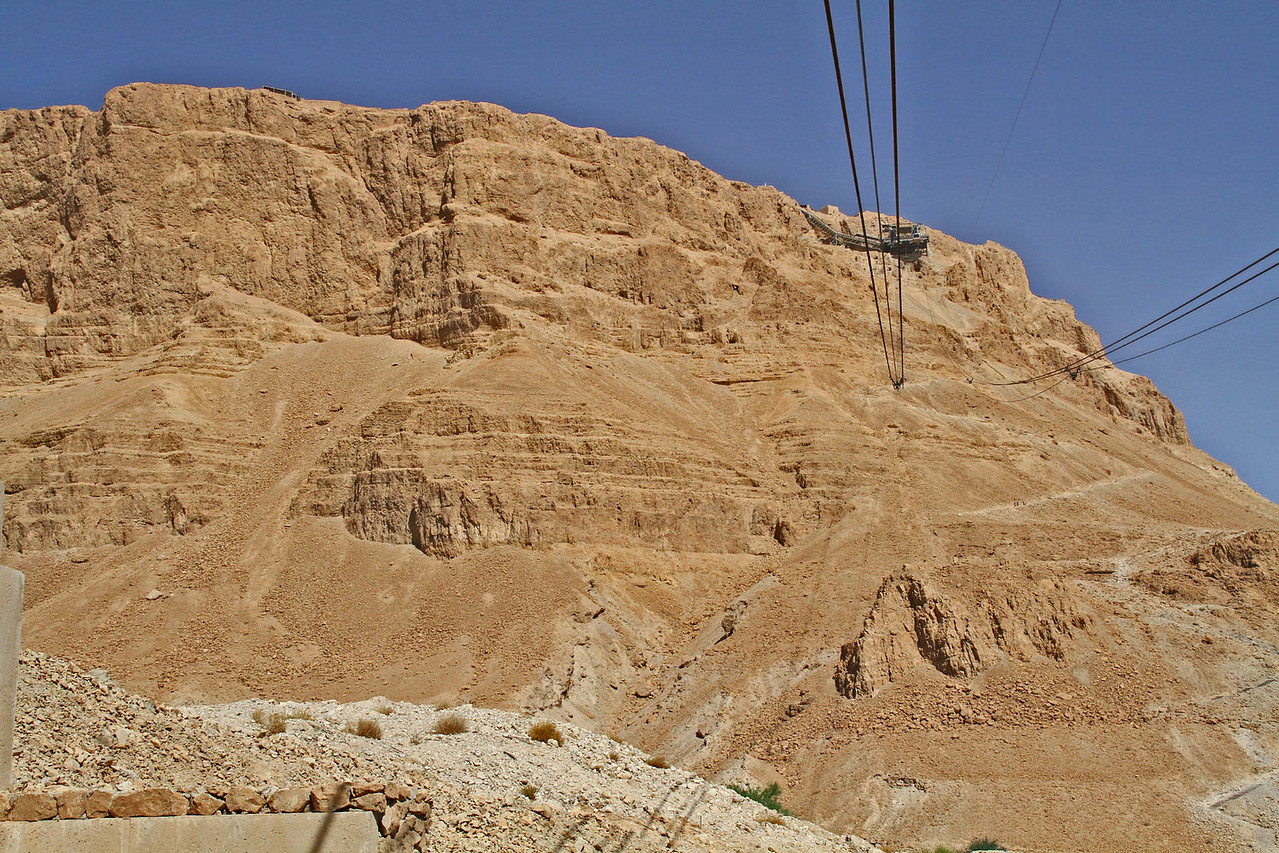 Cable Car Up to Masada