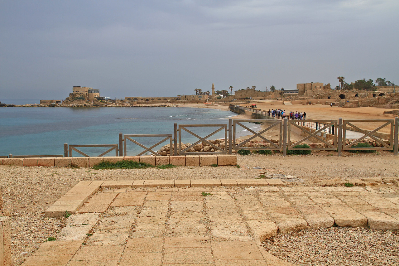 Caesarea - Ship Harbor