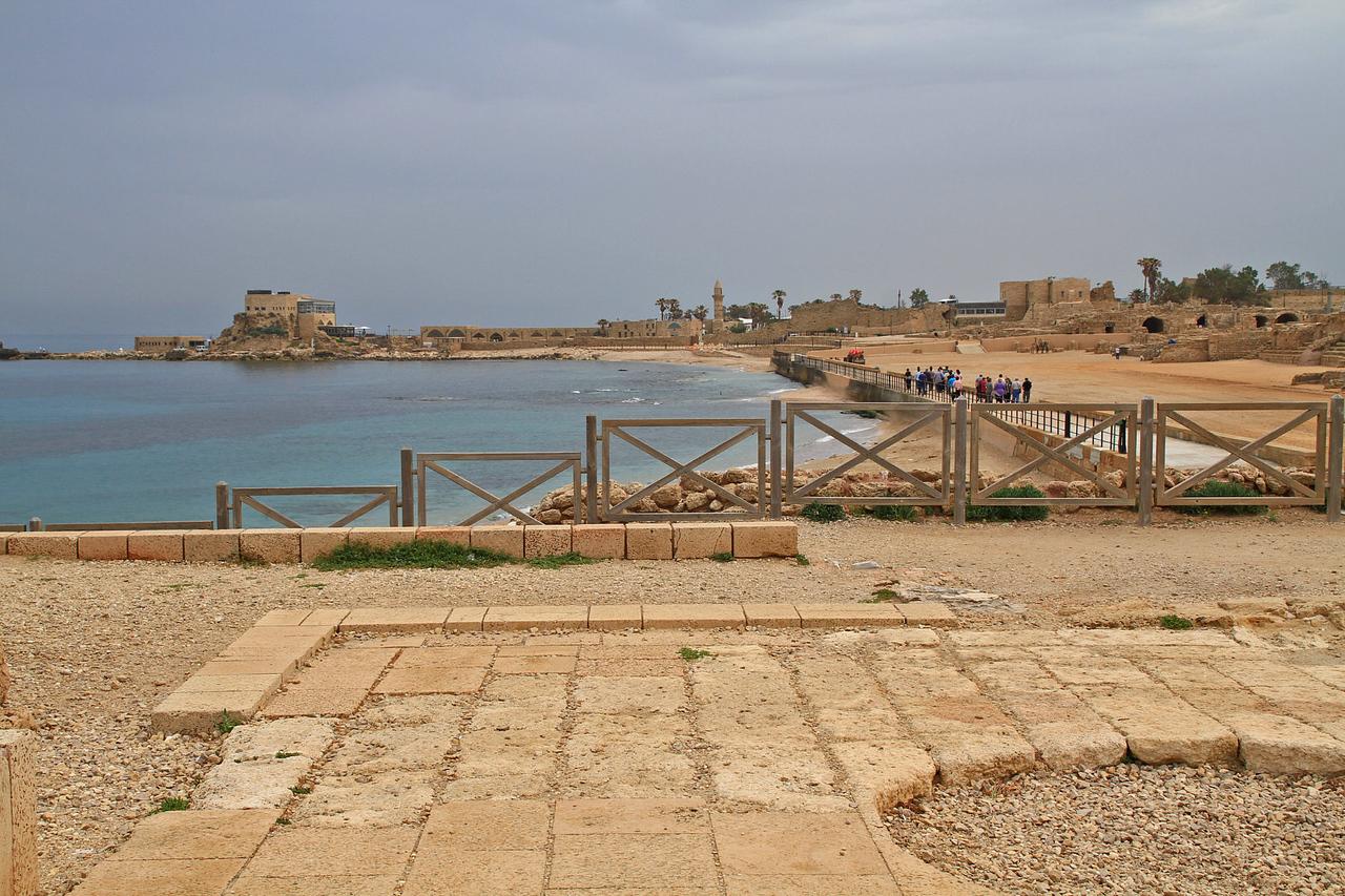 Caesarea - Ship Harbor