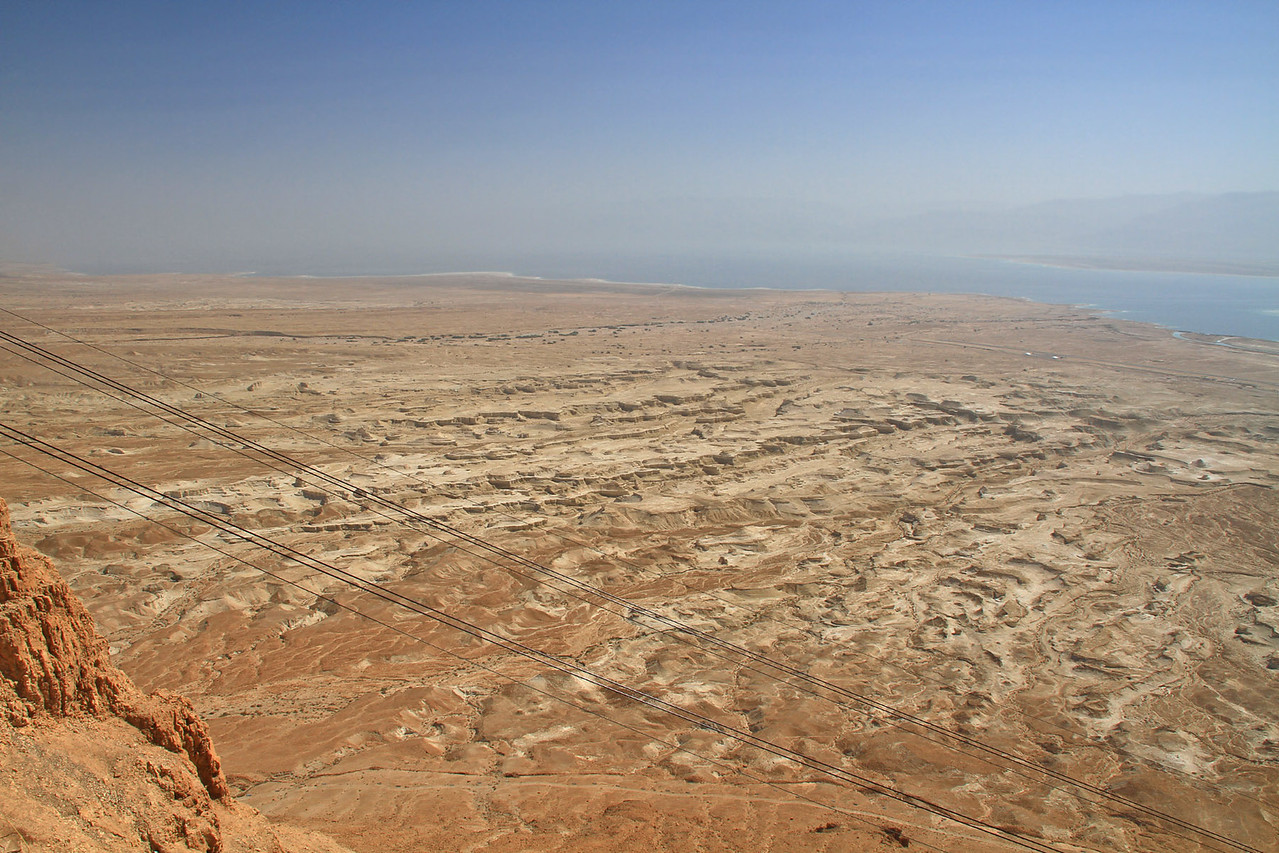 View from top of Masada
