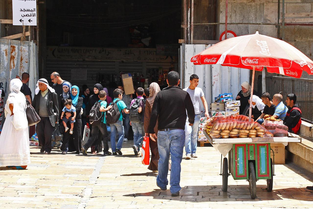 Damascus Gate into Moslem Quarter