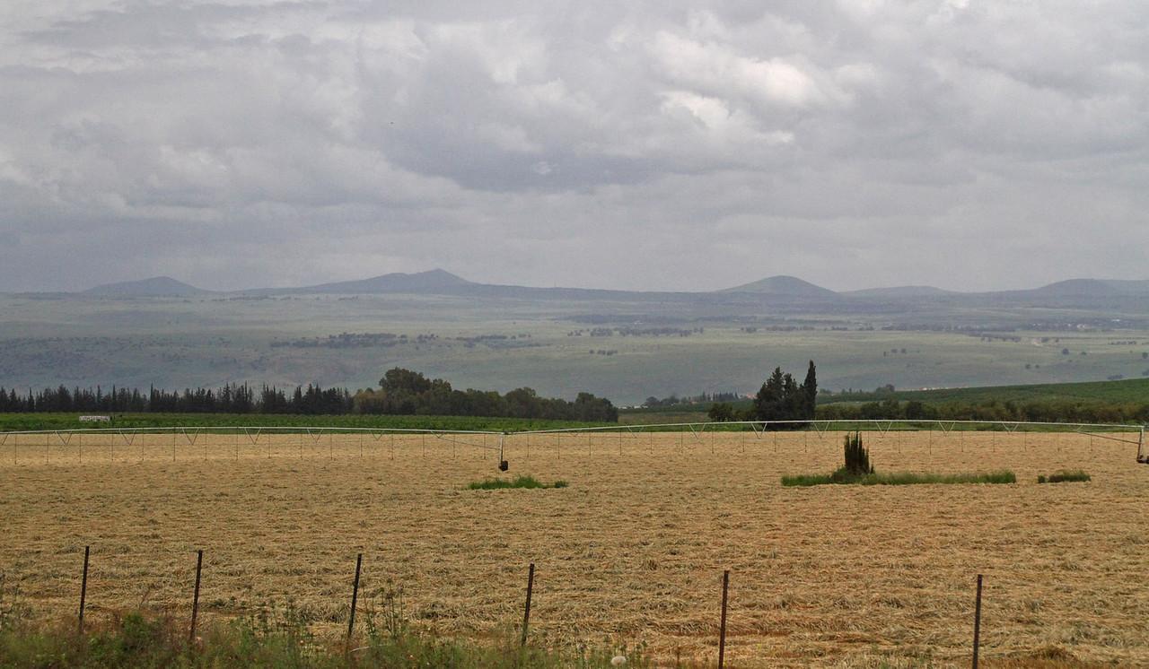 Jordan River Valley & Hula Valley