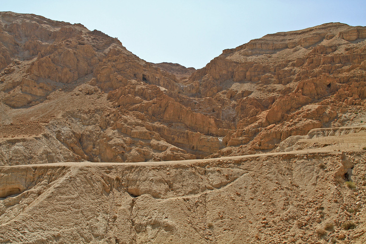 Quram - Mountain Caves where Dead Sea Scrolls were found
