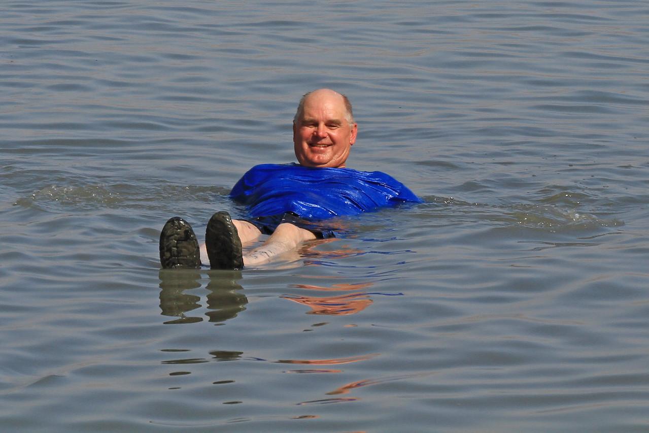 Dead Sea - Floating
