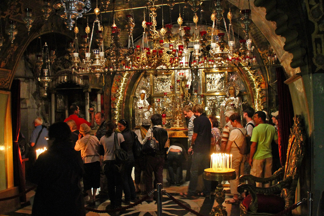 Church of the Holy Sepulchre - Site of Jesus Crucifixion & Burial Tomb