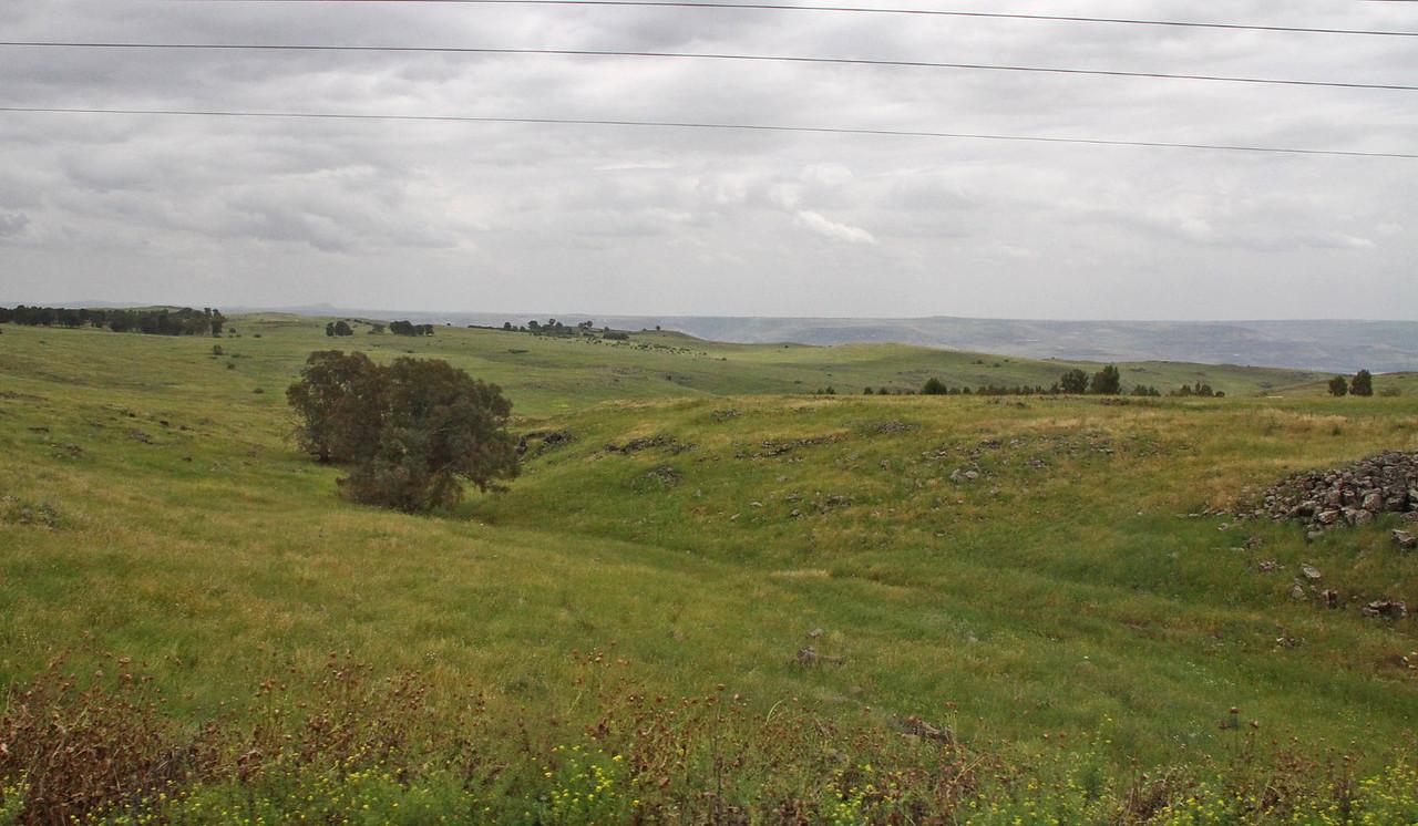 North Through Jordan River Valley & Hula Valley