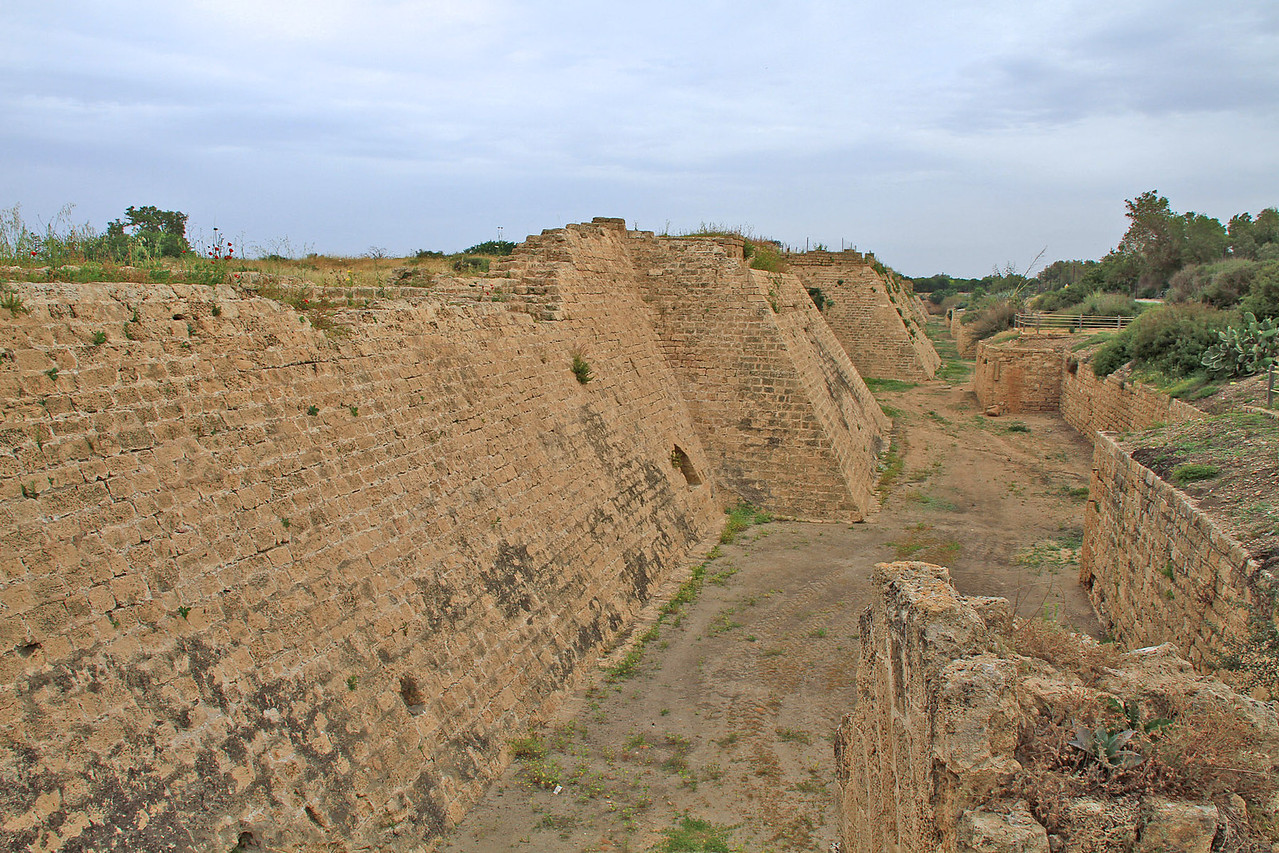 Caesarea - Fortification Walls