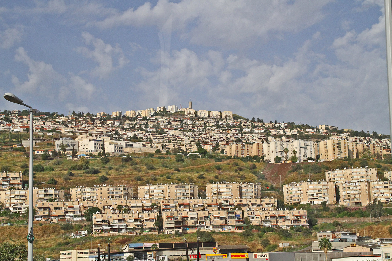 City of Tiberias on Sea of Galilee
