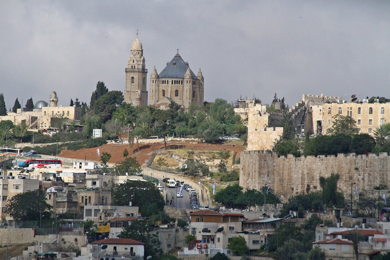 Dormition Abbey - Mt. Zion