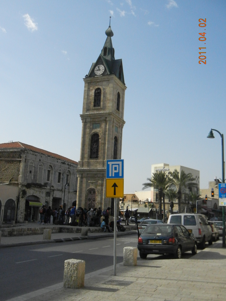 Walk to old Jaffa
