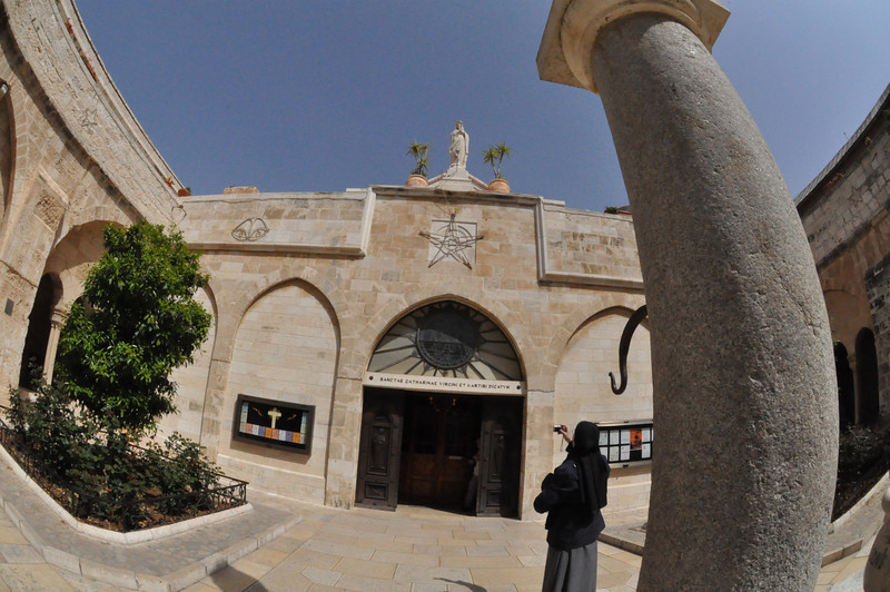 Outside Church of Nativity, Bethlehem, West Bank