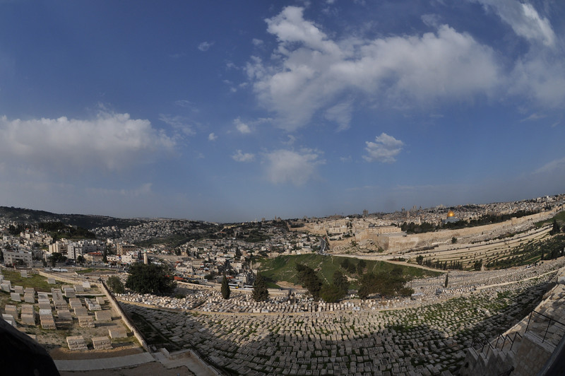 View from Mount of Olives, Jerusalem, Israel