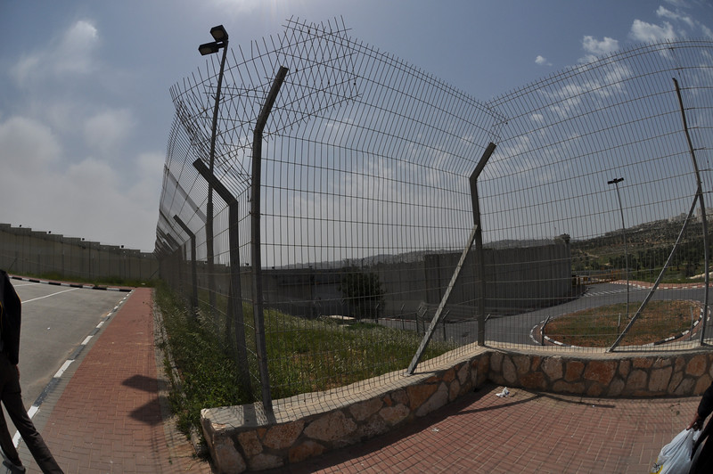 Border to West Bank, Israel