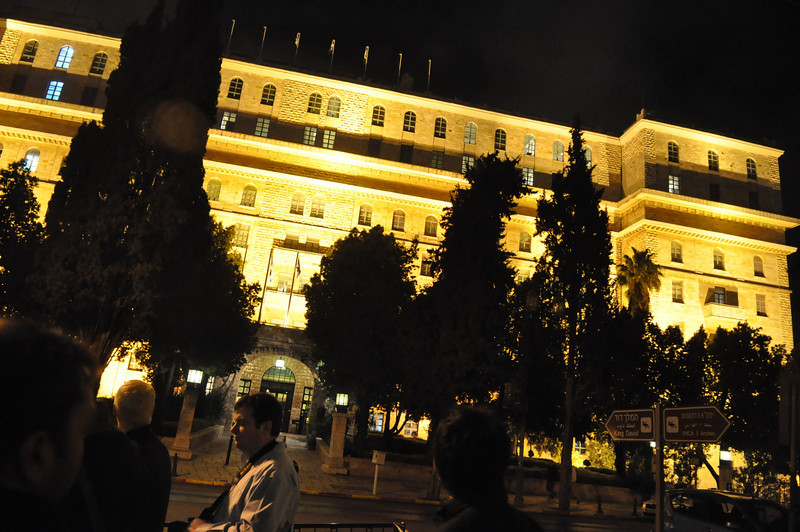 King David Hotel, Jerusalem, Israel
