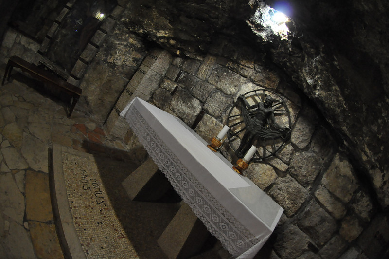 below The Church of St. Catherine, Bethlehem, West Bank