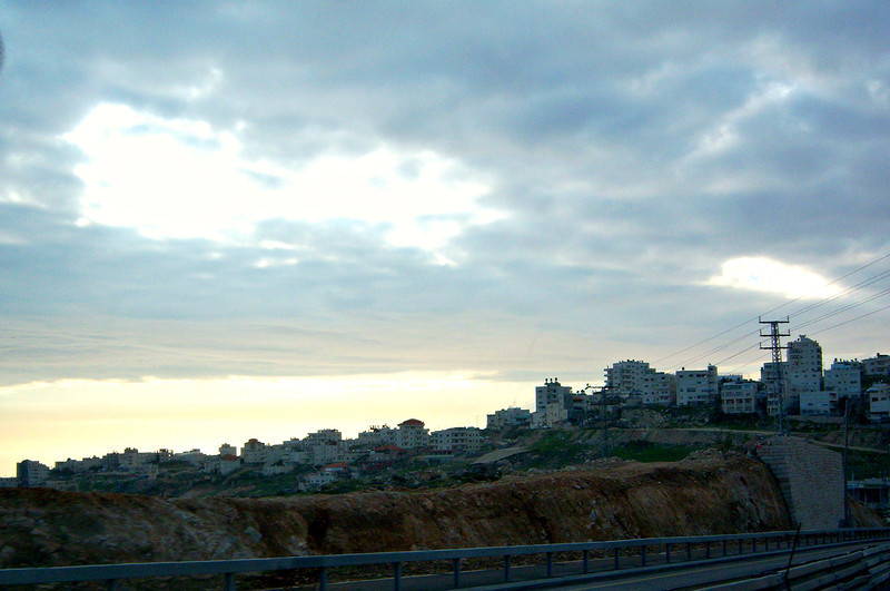 Route 1 heading west out of Jerusalem