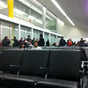Departure gate in Philly