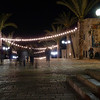 The next set of pictures are from a night-time art walk in the old city of Jaffa.