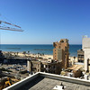 View of the beaches from my room in Tel Aviv.