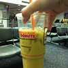 Iced coffee in the Philly airport