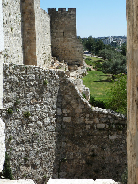 Outer wall of the old city.