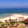 The beach in Netanya