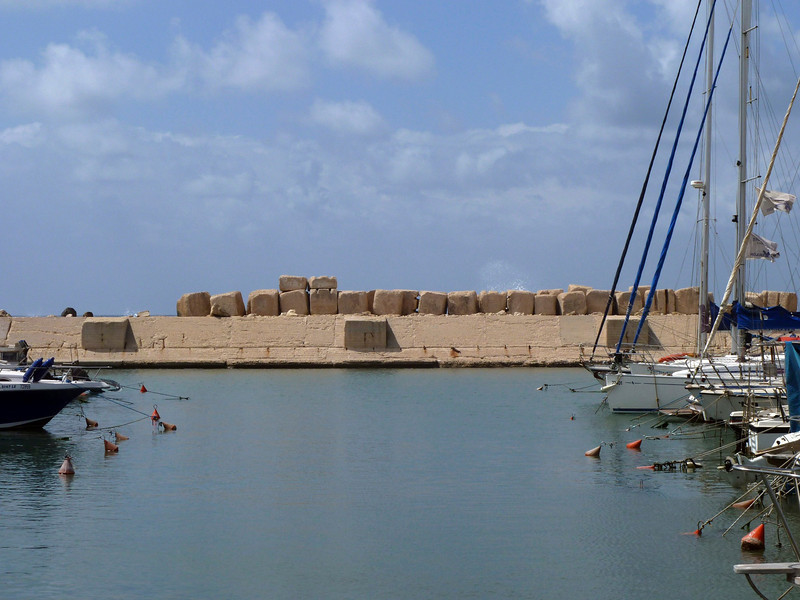 Yafo/Jaffa - one of the world's oldest existing ports.