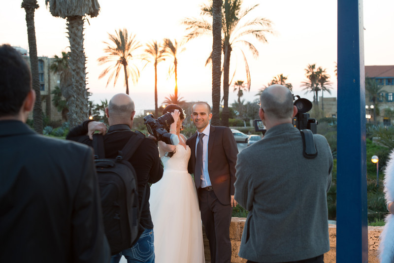 A regular wedding, and a guy with a real camera. Joppa