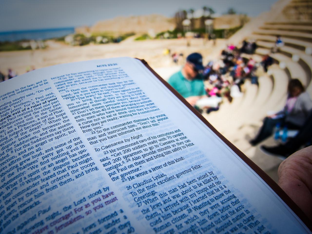 Caesarea Maritime<br /> <br /> Acts 9:29-30