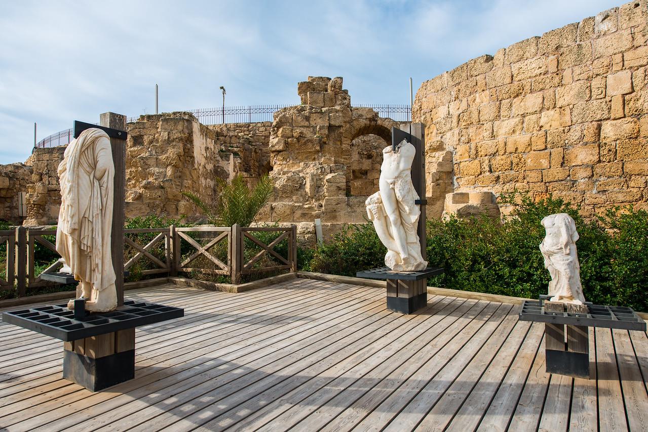 Roman Statues.