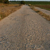 The ancient Roman road to Caesaria