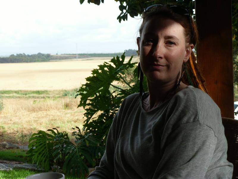 On the farm (kibbutz)
