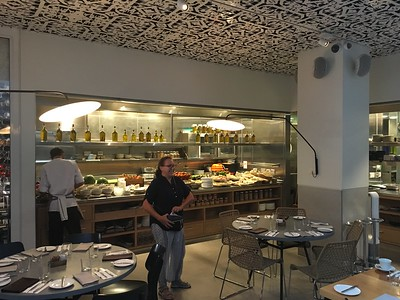 Cissa's joy at discovering breakfast at the Mendeli Street Hotel