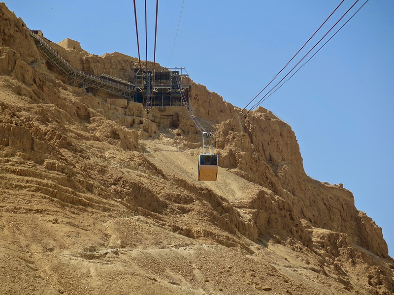 We wimped out and took the cablecar...