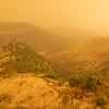 Dust storm meets rain storm