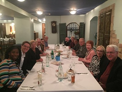 Duke Group at Meal _ BROWN