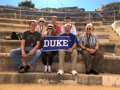 Duke GRADS Taken in the Roman-period theater at Sepphoris, excavated by our Duke expedition