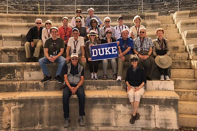 Duke GROUP Taken in the Roman-period theater at Sepphoris, excavated by our Duke expedition