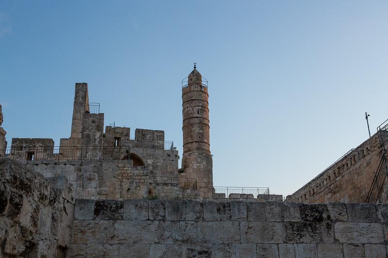 Tower of David bits.