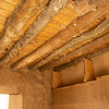 Timber and reed roof/ceiling in the Nazareth village