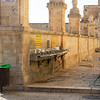 Washing station outside the Al-Aqsa mosque on the temple mount