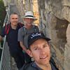 Walking the walls of the Old City of Jerusalem