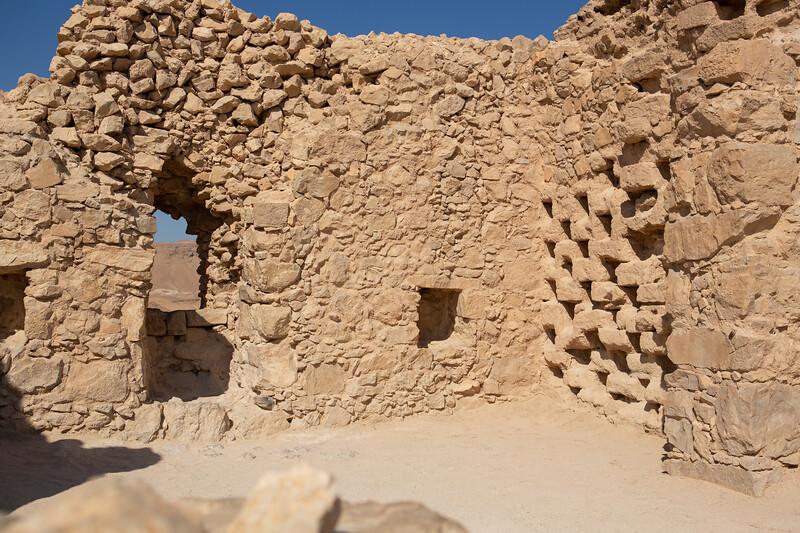 Ruins at Masada - building used to raise doves