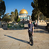 Seth between the Dome of the Rock and the Al-Aqsa mosque on the temple mount