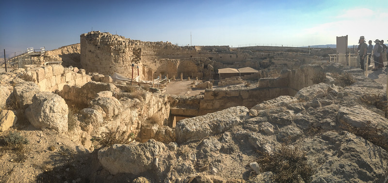 Herodion fortress built by Herod the Great SE of Jerusalem and Bethlehem