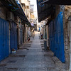 Quiet street (morning) in the Old City of Jerusalem