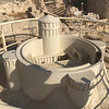 Model of the Herodion fortress built by Herod the Great SE of Jerusalem and Bethlehem