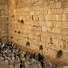 The western (wailing) wall in Jerusalem
