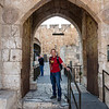 Seth at the Tower of David museum (crusader era building)