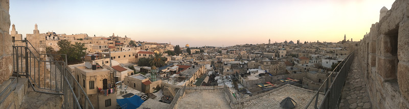View of the Old City from the walls